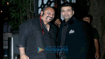 Karan Johar snapped at the 100th Episode of Koffee with Karan bash