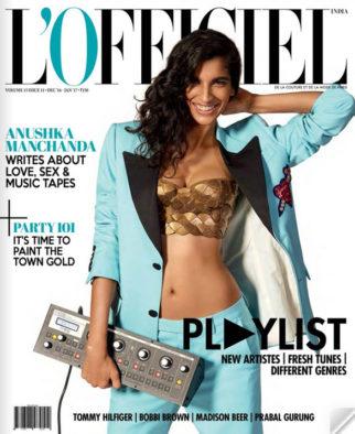 Anushka Manchanda On The Cover Of L'Officiel