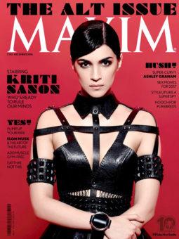 Kriti Sanon On The Cover Of Maxim