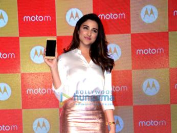 Parineeti Chopra launches Motorola Moto M