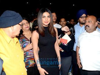 Priyanka Chopra returns from the USA