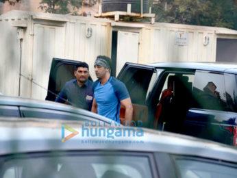 Ranbir Kapoor & Raj Kundra snapped at St Andrews Ground