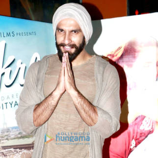 Ranveer Singh promotes his film 'Befikre' at PVR (Andheri)