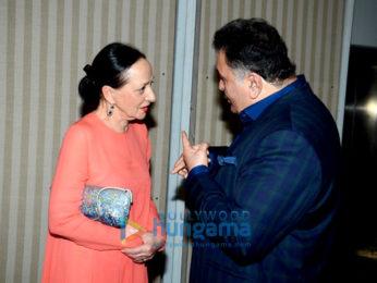 Rishi Kapoor, Randhir Kapoor & Rajiv Kapoor grace Raj Kapoor's Birthday celebrations with Mera Naam Joker screening