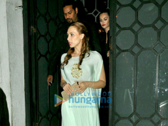 Salman Khan, Iulia Vantur and others snapped post dinner at The Korner House