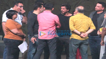 Salman Khan, Shah Rukh Khan, Tiger Shroff and Tamannaah Bhatia snapped at 23rd Annual Star Screen Awards 2016 rehearsals