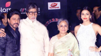 Shah Rukh Khan's ICONIC Moment With The Bachchans At Stardust Awards 2016 vid