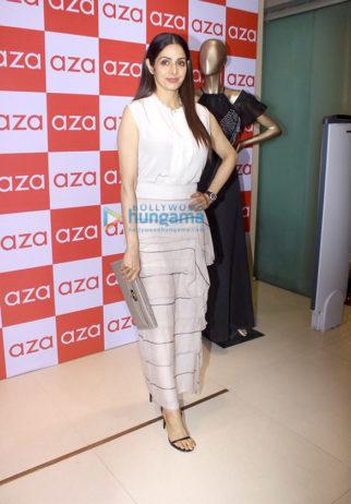 Sridevi, Tamannaah Bhatia and others grace Esha Amin's fashion preview