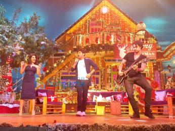 Sunny Leone & Daniel Weber on the sets of The Kapil Sharma Show