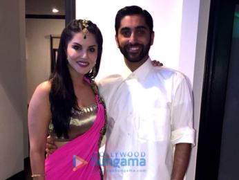 Sunny Leone graces her brother Sundeep's wedding ceremony