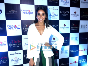 TV celebs at the launch of 'Telly Calendar 2017'