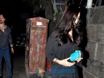 Tiger Shroff & Disha Patani snapped in Bandra
