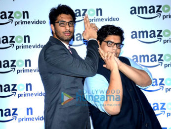 Zoya Akhtar, Vikas Bahl & Reema Kagti at the launch of 'Amazon Prime Video'