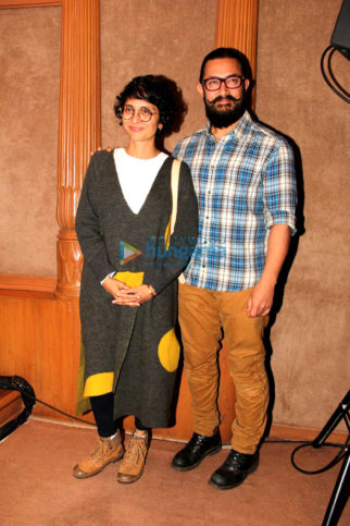 Aamir Khan and Kiran Rao grace Paani Foundations awards