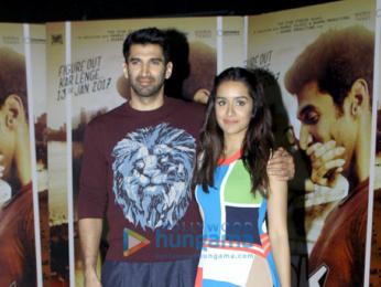 Aditya Roy Kapur & Shraddha Kapoor at 'Ok Jaanu' promotions