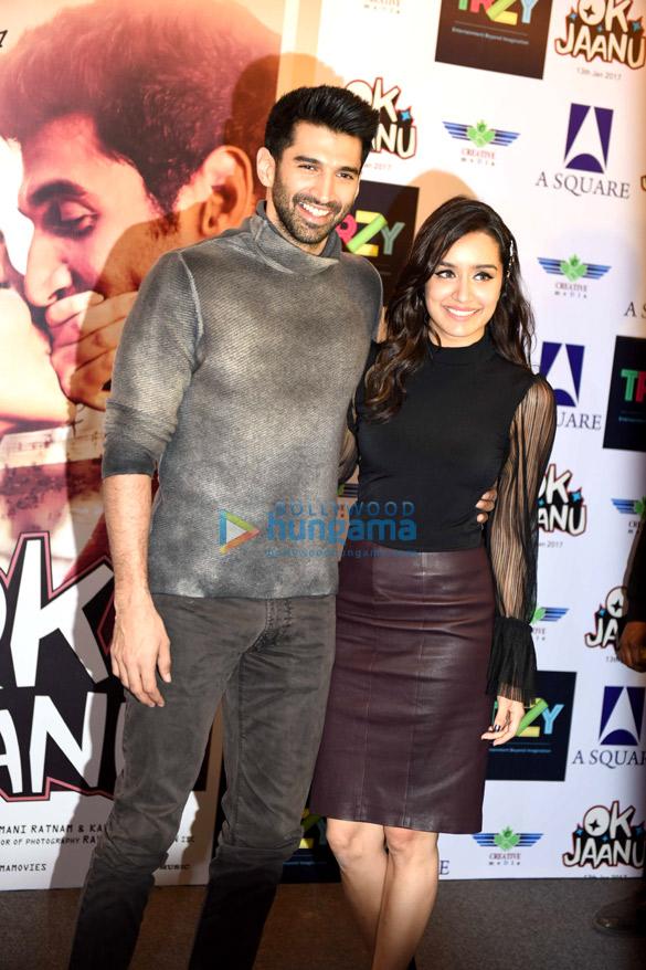Aditya Roy Kapur & Shraddha Kapoor promote 'Ok Jaanu' in Delhi