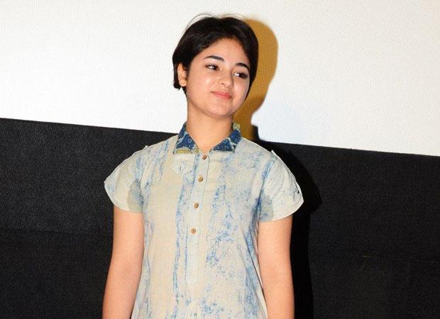Dangal actress Zaira Wasim lashes out on sports minister Vijay Goel