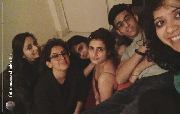 Fatima Sana Shaikh celebrates her birthday with her best friend Sanya Malhotra-2