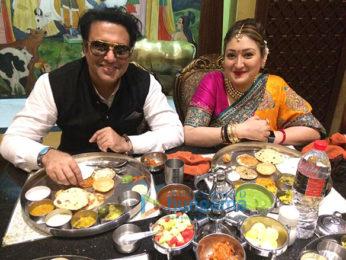 Govind celebrates Makar Sankranti with wife in Ahmedabad