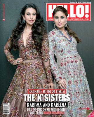 Karisma Kapoor & Kareena KapoorOn The Cover Of Hello!