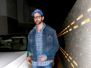 Hrithik Roshan, Sussanne Roshan and Zayed Khan snapped post dinner at Friend's Pad in Juhu