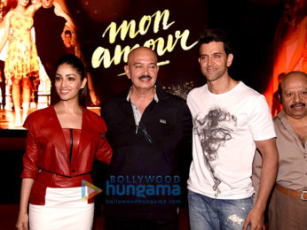 Hrithik Roshan & Yami Gautam launch 'Mon Amour' song from 'Kaabil'