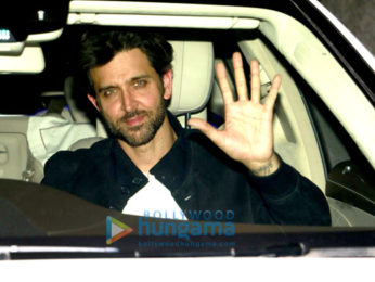 Hrithik Roshan, Yami Gautam, Sussanne Roshan and others snapped post party at Rakesh Roshan's house