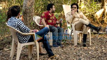 On The Sets Of The Movie Jeena Isi Ka Naam Hai