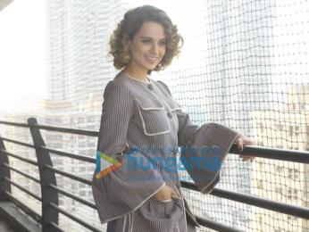Kangna Ranaut snapped at 'Rangoon' promotions