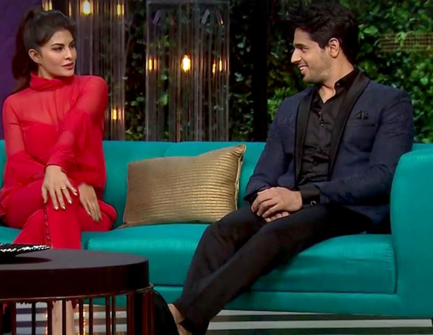 Koffee With Karan 5: From 'Koffee Shots' to steamy conversations, Sidharth and Jacqueline are sassy and fun on Koffee with Karan