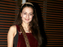 Maanyata & Amisha Patel snapped at Estella Lounge