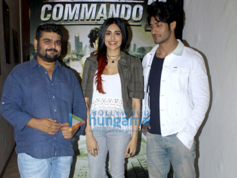 Media meet of 'Commando 2'