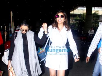 Parineeti Chopra returns from Dubai
