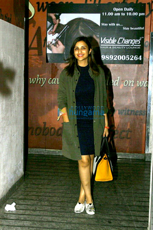 Parineeti Chopra snapped at PVR Juhu