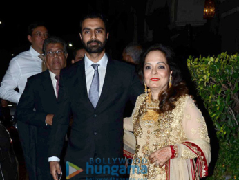 Preity Zinta, Vivek Oberoi and others at Radha Kapoor's daughter's wedding reception