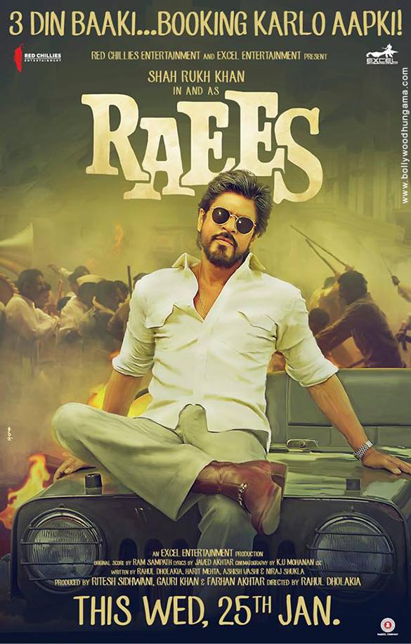 RAEES (2017) con SRK + Jukebox + Sub. Español + Online Raees-09