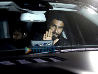 Ranveer Singh snapped at PVR Juhu