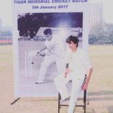 Saif Ali Khan's son Ibrahim Ali Khan at the 'Tiger Memorial cricket match'