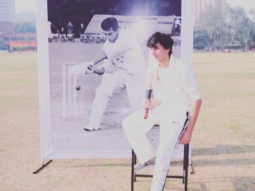 Saif Ali Khan's son Ibrahim Ali Khan at the 'Tiger Memorial cricket match'