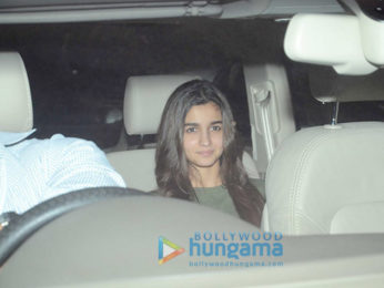 Saif Ali Khan, Sidharth Malhotra and Alia Bhatt snapped at Karan Johar's house