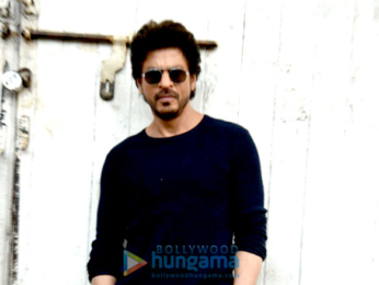 Shah Rukh Khan snapped during Raees' promotions