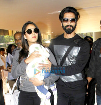 Shahid Kapoor, Mira Rajput, John Abraham and others snapped at the airport