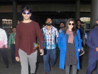 Sidharth Malhotra and Alia Bhatt return from Amsterdam