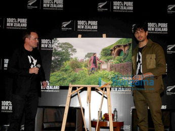 Sidharth Malhotra at New Zealand Tourism media meet