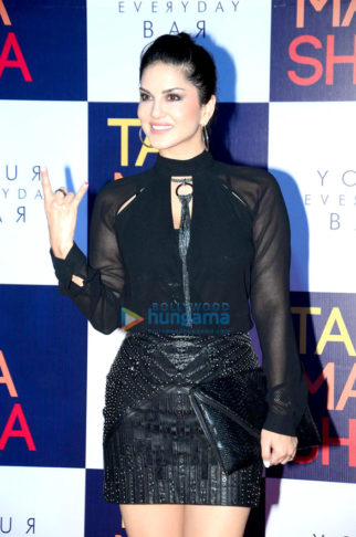 Sunny Leone, Amy Jackson and Karan Singh Grover grace the launch of Tamasha