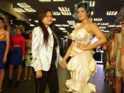 Eye-Pleasing Launch Of Sanaa Khan's Fashion Label
