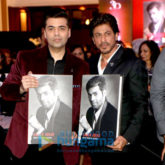 Shah Rukh Khan unveils Karan Johar's book 'An Unsuitable Boy'