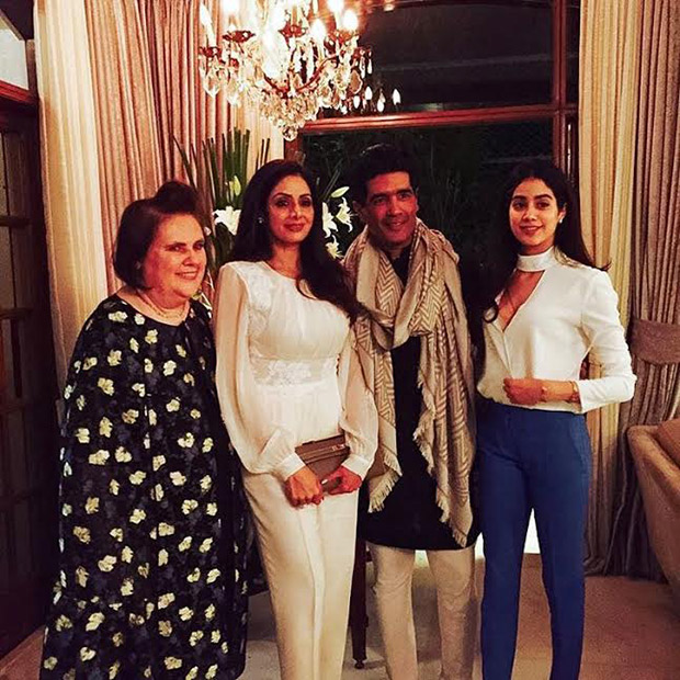 Check out: Sridevi, Kriti Sanon, Sonakshi Sinha have a lovely time at Manish Malhotra's dinner party1