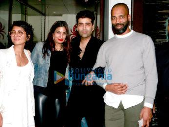 Alia Bhatt, Karan Johar, Kiran Rao & Abhay Deol snapped post dinner at Bastian