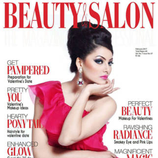 Urvashi Rautela On The Cover Of Beauty & Salon, Feb 2017